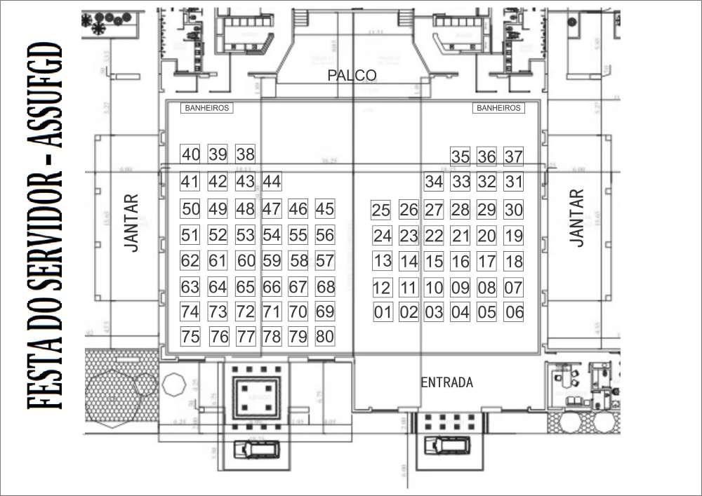 Mapa de Mesas ASSUFGD